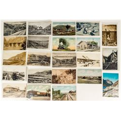 Montana Railroad Postcards