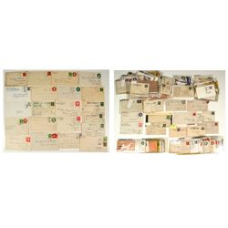 Montana Territorial and Statehood Postal History Collection (165 Pieces)