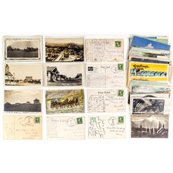 Northeast Montana Postal History and Postcard Collection