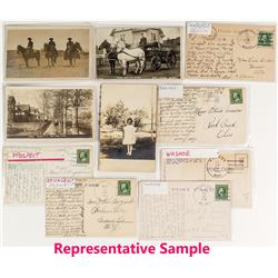 Southeast Montana Postal History / Postcard Collection