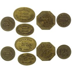 Billings Cigar Store Tokens