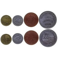 Billings Hotel Tokens