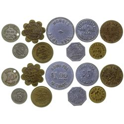 Billings Pool Hall Tokens