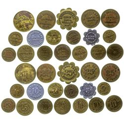 Brunswick And New Brunswick Bar Tokens (Billings, Montana)