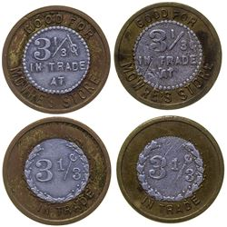 Billings Bi-Metallic Tokens