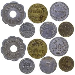 Billings Dairy Tokens