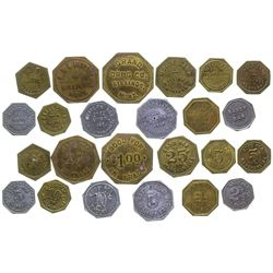 Billings Octagonal Token Collection