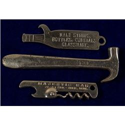 3 Butte Advertising Metal Bottle Openers