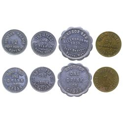 Butte 'Good for 1 Cigar' Tokens
