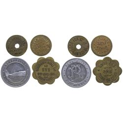 Great Falls Hotel and Hotel Bar Tokens