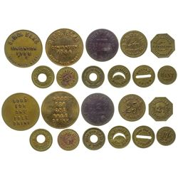Great Falls Bars, Events, and Alcohol Token Collection