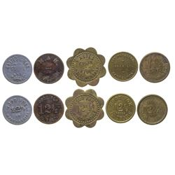 Havre Stores and Cigar Tokens