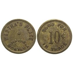 Martha's Place Token (Havre, Montana) (UNLISTED)