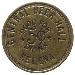 Helena Central Beer Hall Token