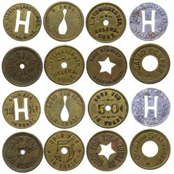 Helena Store Tokens Cut and Punched