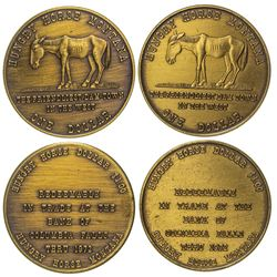 2 Pictorial Hungry Horse Tokens
