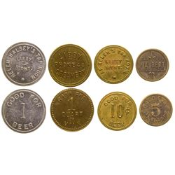 5 Libby Tokens