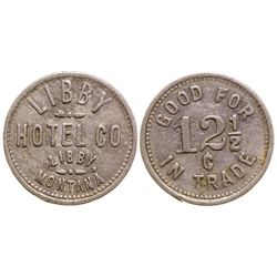 Libby Hotel Co. Token, Libby, Montana
