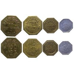 Red Lodge Octagonal Tokens
