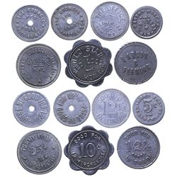 Red Lodge Aluminum Token Collection