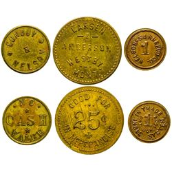 Trio of Westby Tokens