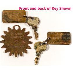 Montana Hotel Key Fobs