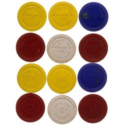 Fairview Gaming Chip Token Collection