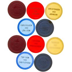 Flaxville Gaming Chip Token Collection