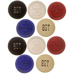 Froid and Gardiner Gaming Chip Token Collection