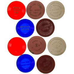 Glasgow Gaming Chip Token Collection