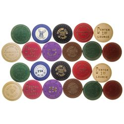Great Falls Gaming Chip Token Collection