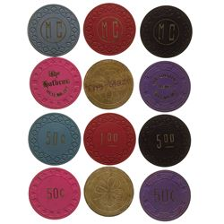 Helena Gaming Chip Token Collection 2