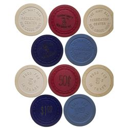 Red Lodge Gaming Chip Token Collection 1