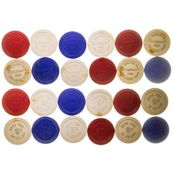 Red Lodge Gaming Chip Token Collection 2
