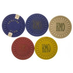Wibaux Gaming Chip Tokens
