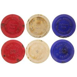 Wolf Point Gaming Chip Token Collection