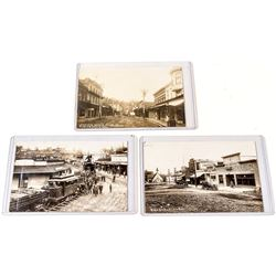 Auburn and Placerville Real Photo Postcards