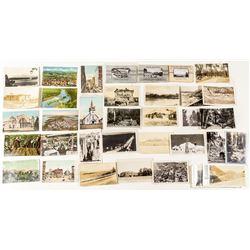 Group of Oregon and Washington Postcards