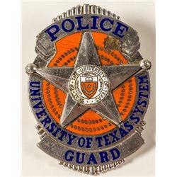 University of Texas Police Badge
