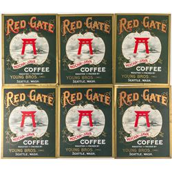 Red Gate Coffee Posters