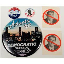 Democratic Convention Ephemera