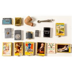 Smoking Collectibles: Lighters, Matches, Pipe
