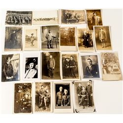Real Photo Postcards of Uniformed Men