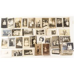Real Photo Postcards of Children