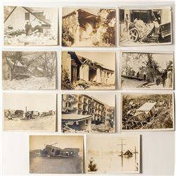 Real Photo Postcards of Natural Disasters