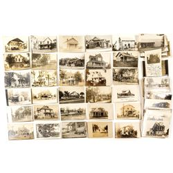 Early Real Photo Postcards of Houses and Farms