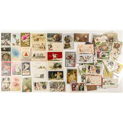 Vintage Holiday Postcards