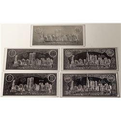 9/11 Commemorative Coin Certificates