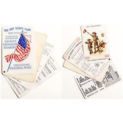Boy Scout Folding Card c.1916