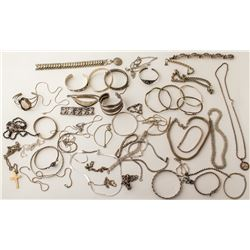 Silver Necklaces and Bracelets